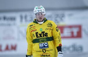 Mattias Sand noterades för en assist, då han flippade in bollen mot mål till Micha Svechnikov.