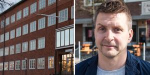 Marino Wallsten (S) försvarar varför Socialdemokraterna vill sälja Brukskontoret och Norra station för att sedan hyra in sig i lokalerna.