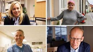 De nominerade: Frida Hansdotter, Marion Belin, Kenneth Smedh och Johan Söderström.