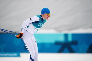 Iivo Niskanen vann OS-guld på femmilen. Bild: Carl Sandin/Bildbyrån