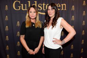 Amanda Berglöf och Ida Dahlberg har frisersalongen Timrås lilla salong och var nominerade i Årets unga företagare.
