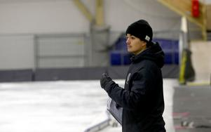 ÖSK:s tränare Max Eriksson.