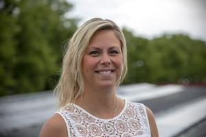 Cecilia Östlund är fastighetsförvaltare på Diös i Gävle.