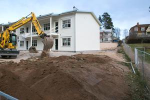 Vid Korstäppan byggs 28 bostadsrätter.