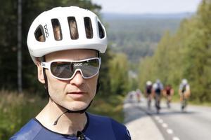 Thomas Hegefors, ordförande i föreningen Lindecyklisterna.
