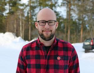 Åke Remén, ny ordförande för Vänsterpartiet i Härjedalen.
