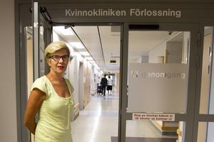 Marju Dahmoun, länsverksamhetschef vid kvinnokliniken i Region Västernorrland, är medveten om att man haft problem med statistiken för väntetider vid förstagångsbesök.