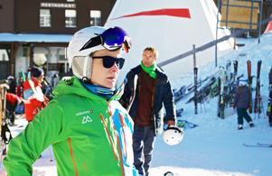 I år blir det en kortare resa till Schweiz eftersom Malin fått nytt jobb. Foto: Privat
