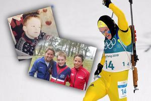 Sebastian Samuelsson tog OS-silver under måndagen. Bild: Privat/Jan Olav Nesvold/Bildbyrån/Montage
