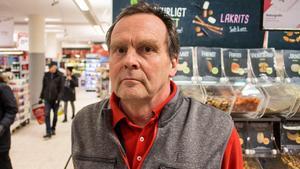Per Swedenström, butikschef på Ica Falan.