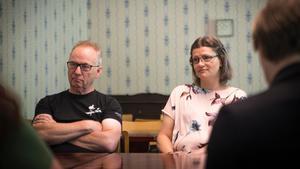 Bengt Holmertz och Lillje Hagerman från Horndalsrevyn.