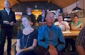 Det var trångt på Skoogs krog i Funäsdalen när Företagarna Härjedalen pratade kilometerskatt och bjöd in till mingel.