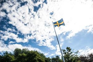 Bra väder och flaggan svajade i den lätta vinden under tisdagen.