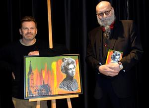 Anders Öhrn gav ut boken