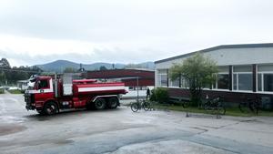 Räddningstjänstens styrka i Sveg ryckte ut.