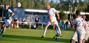 Anton Åkerhag gjorde WIK:s 3–0-mål. Bilden är från en tidigare match.