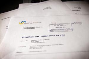 Skolinspektionen har lämnat in en ansökan om att utdöma vite till Alirskolan på 250 000 kronor.