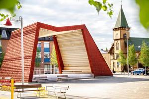 Bollnäs stadskärna har röstats fram som den tionde fulaste i Sverige.