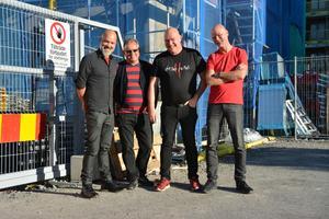 Martin, Juba, Nizze och Mats är Dead Pollys. Foto: Pernilla Larding