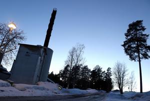 Värmeverket i Fränsta kommer behöva få en ny panna om några år, tror Åfas styrelseordförande Stiven Wiklund.