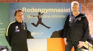 Janne Stahre och Anders Ingemarson.