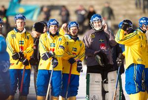 Mästerskapet i Uljanovsk blev ett enda stort fiasko för svenska herrlandslaget. Foto: Rikard Bäckman/Bandypuls.se/TT