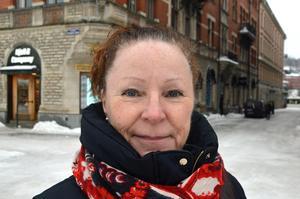 Ingalill Turpin, 60 år, banktjänsteman, Sundsvall: