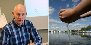 Lars Ferbe är projektchef för Vätternvatten, som ska ge vatten åt fem kommuner: Örebro, Kumla, Hallsberg, Laxå och  och Lekeberg. Bild: Göran Wärnelid/Håkan Risberg