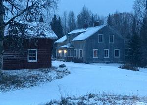 Borgvattnets prästgård i Ragunda, Jämtland.