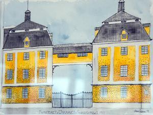 Sundsvallsbyggnader i äldre stil - riktiga konstverk.
