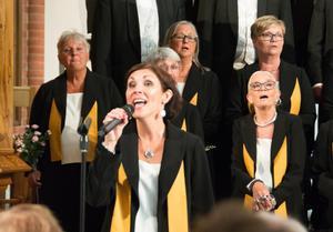 Gabriella Norberg var solist i