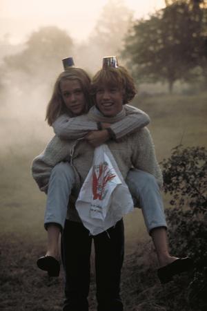 Kärleksparet Annika (Ann-Sofie Kylin) och Pär (Rolf Sohlman) i Roy Anderssons