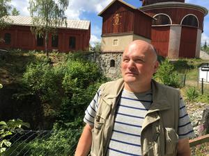 Richard Meurman tilldelas Sala kommuns kulturarvsstipendium på 30000 kronor.