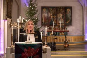 Anne Alamaa, samordnare för finska förvaltningsområdet hälsade välkommen på finska och svenska.