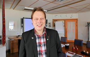 Abbe Ronsten, ordförande i Region Dalarna, är förväntansfull inför Almedalsveckan.