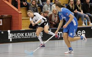 Trots ett massivt tryck från Söderhamn i den tredje perioden, så kunde H/B till slut vinna matchen.