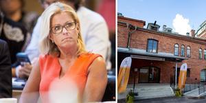 Kommunalrådet Åsa Wiklund Lång är bekymrad över underskottet vid nya förvaltningen Sektor välfärd.