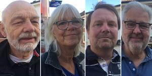 Kent Rydén, Britt-Marie Rydén, Roland Lindblad, Anders Fogdahl.