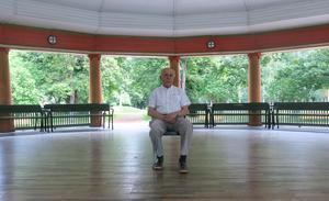 Ingvar Hansson ser fram emot besöket från Marinens musikkår.
