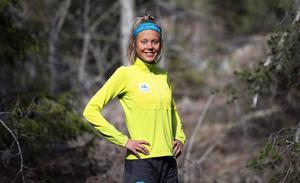 Johanna Åström har snabbt blivit en av de bästa i världen i skidalpinism.