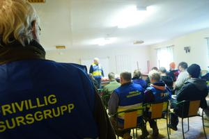 omkring 35 deltagare kom på informationsdagen.
