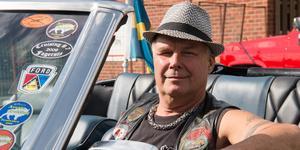 Roger Fridolfsson, ordförande i Beautytown Cruisers, har jobbat hårt med uppbyggnaden.