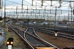 Bangården i Nässjö är en bra plats för fortsatt regional utveckling av järnvägsinfrastruktur, skriver artikelförfattarna.