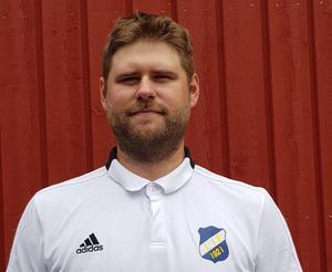 Andreas Eggen är tränare i Lillhärdals IF. Foto: Privat