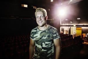 Gottfrid Krantz från Byn, Gussjö, gick vidare till kvalveckan i idol 2019.