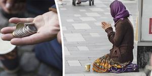 Moderaterna vill ha tiggeriförbud i Örnsköldsviks centrum. Ordningsreglerna för gatumusikanter striktades upp för ett par år sedan.