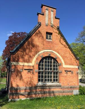 Det gamla pumphuset är från 1905.
