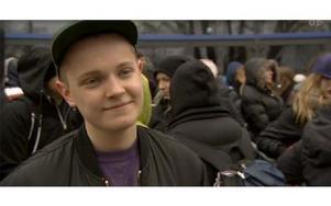 Erik Rapp är Dalarnas hopp i årets Idol. Foto: Skärmdump från TV4.se