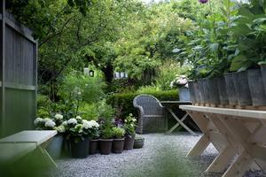 Här ska det finnas tid för att stanna upp, sätta sig ner och läsa en bok,  gå runt i trädgården eller bara att vara.