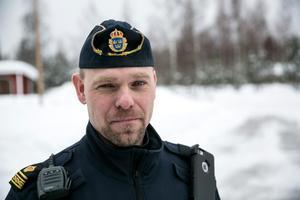 Mikael Berglund ledde sökinsatsen efter den försvunne Säterbon.